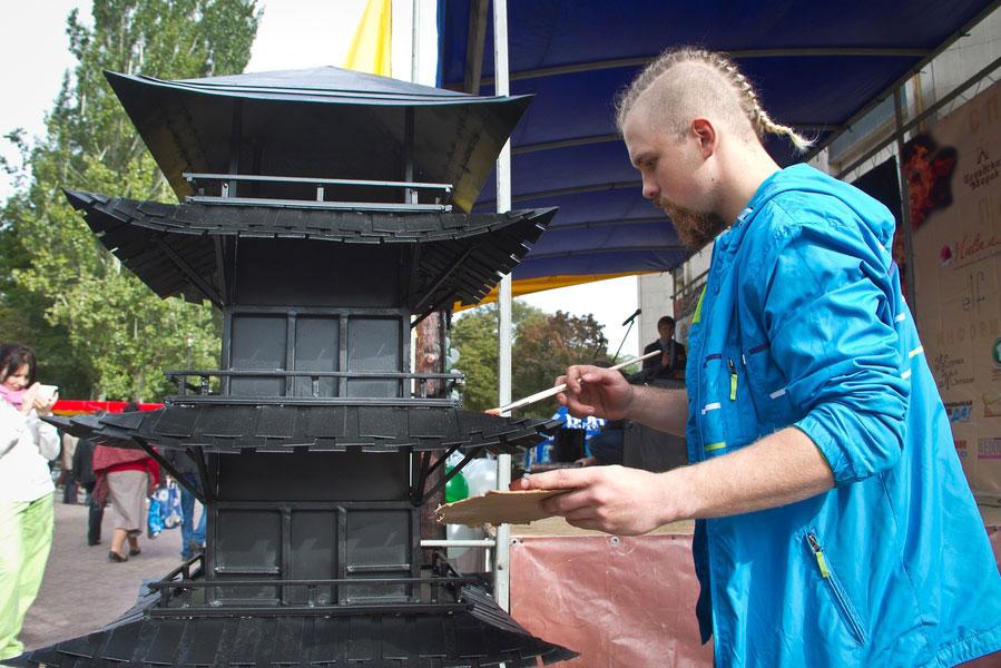 Александр Демченко и его пагода