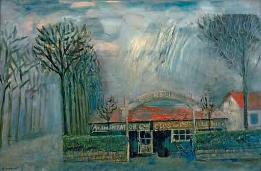 Французский пейзаж. Юрий Анненков. 1920-е годы
